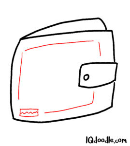 how to doodle wallet 04
